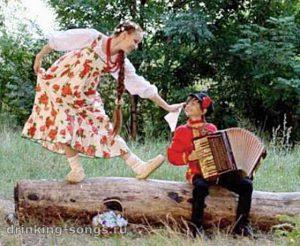 лапти да лапти русская народная песня текст