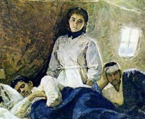 текст песни «Вальс фронтовой медсестры»